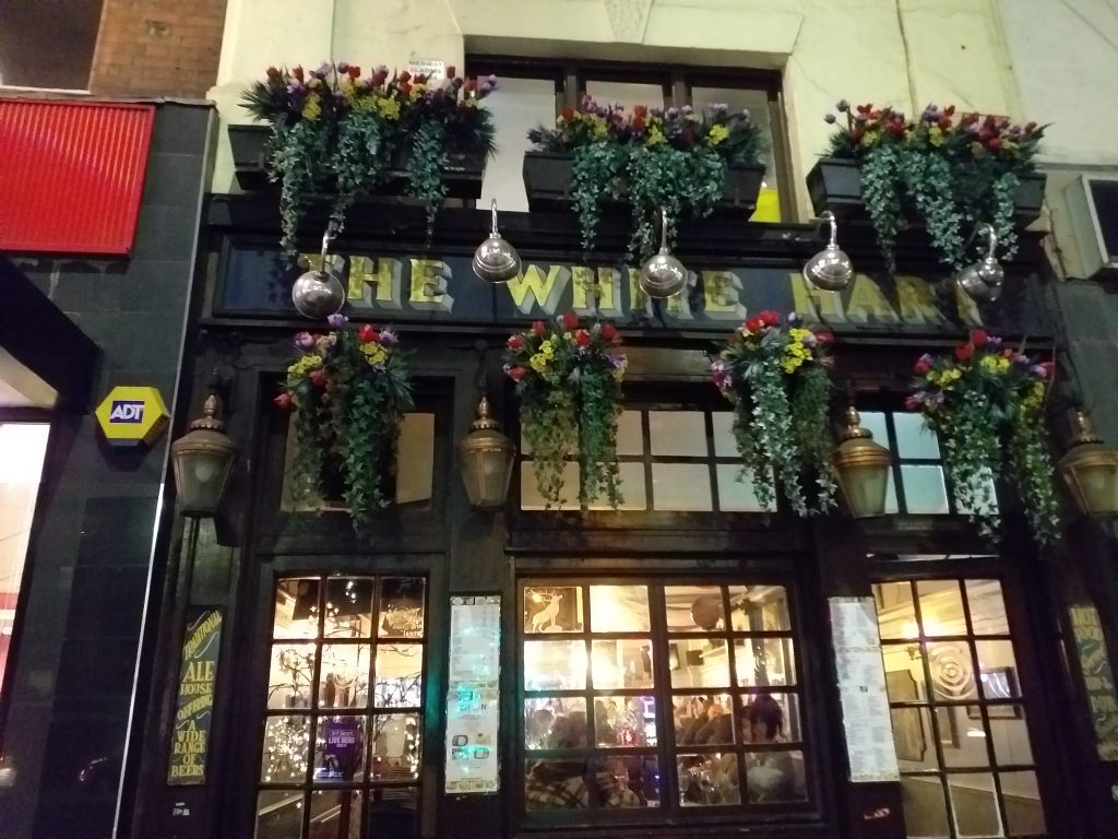 The White Hart Pub, Whitechapel High Street