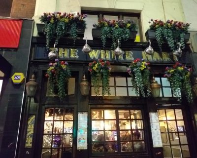The White Hart Pub, Whitechapel, where George Chapman worked as a barber in 1890