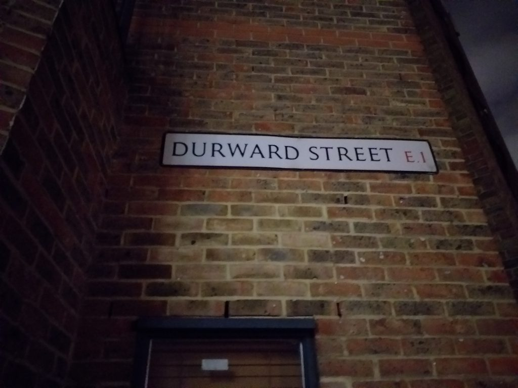 Duward Street, Buck's Row, Whitechapel, Mary Ann Nichols