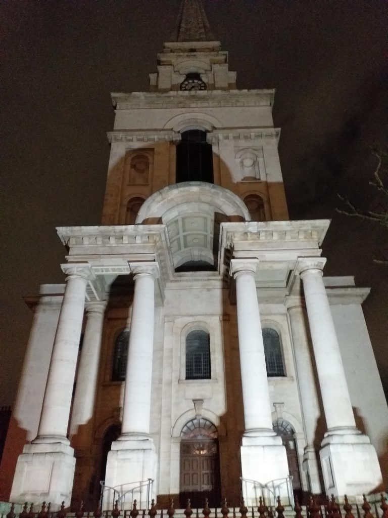 Christ Church, Spitalfields, designed by Nicholas Hawksmoor
