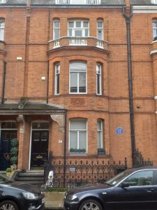 Oscar Wilde's house in Tite Street, Chelsea, London