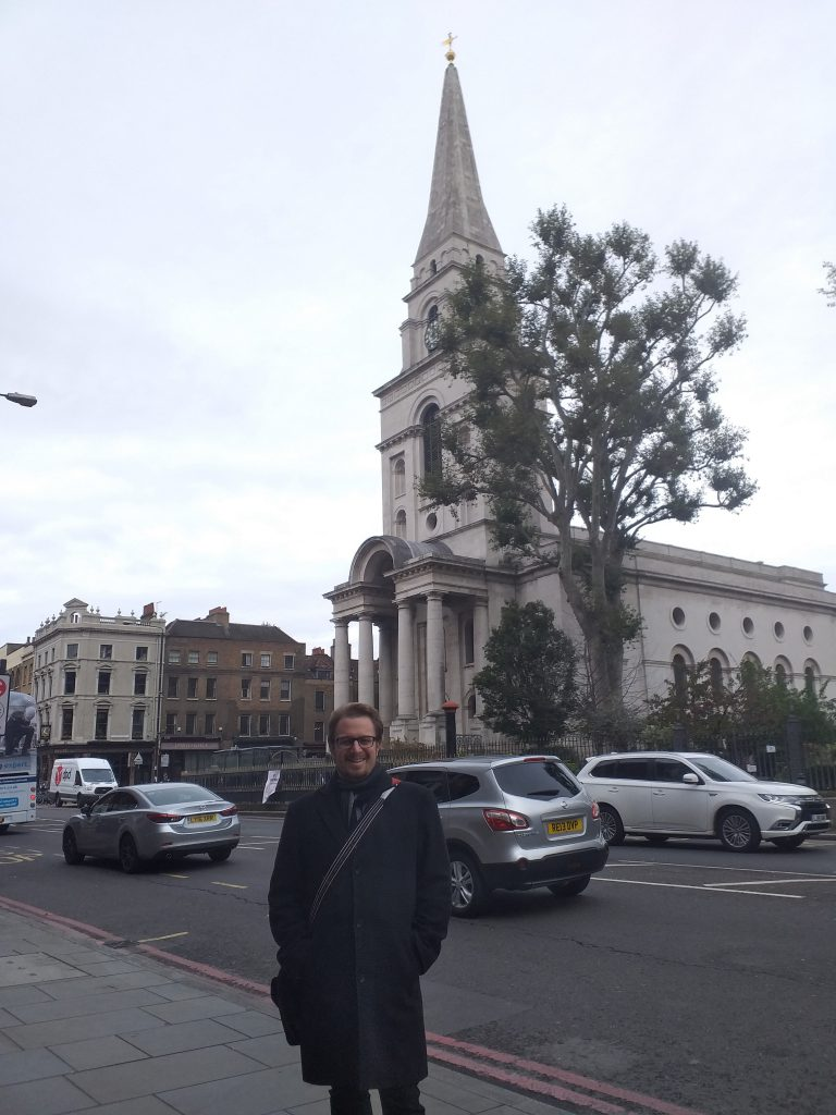 Philipp Röttgers at Christ Church, Spitalfields and The Ten Bells pub