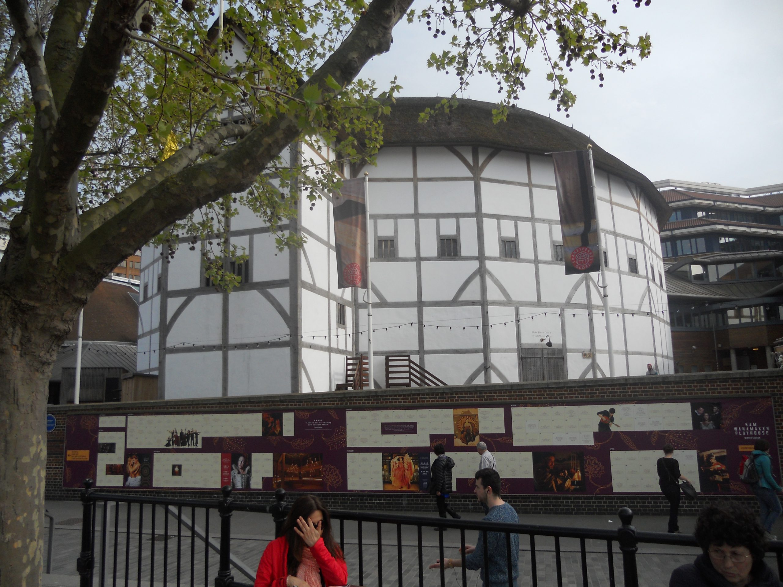 Shakespeare's Globe Theatre, Southwark, London