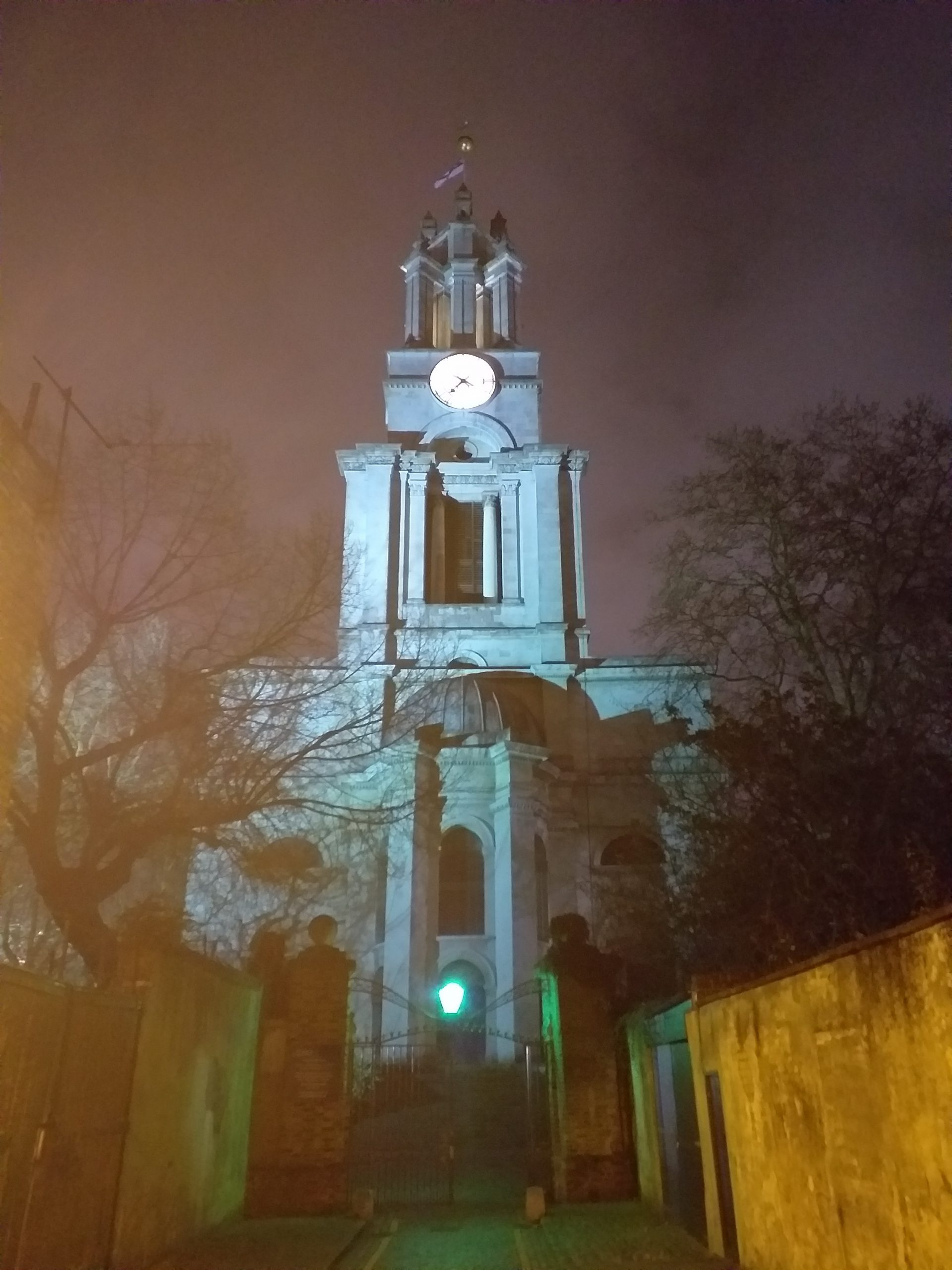 St Anne's Limehouse, designed by Nicholas Hawksmoor (Photo: Philipp Röttgers)