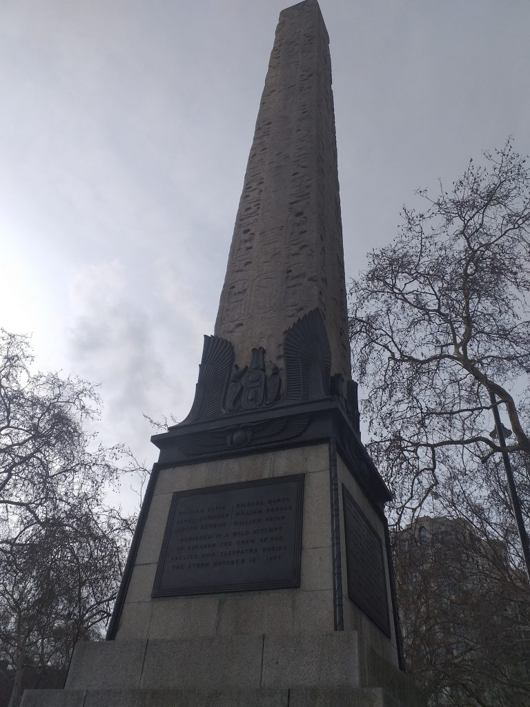 Cleopatra's Needle (Photo: Philipp Röttgers)